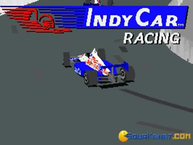Indycar Racing - game cover