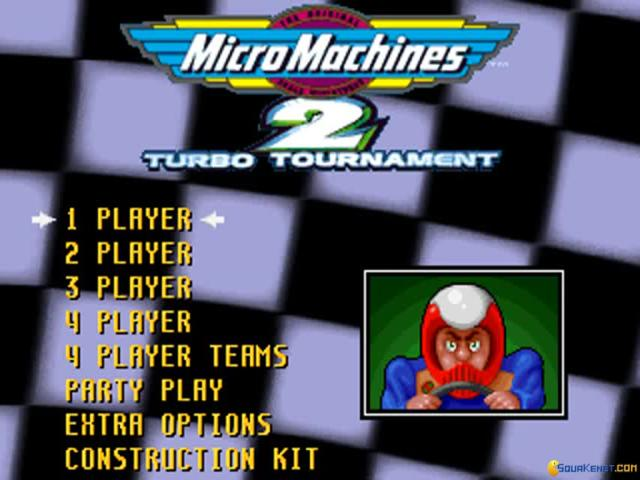 Micro Machines 2 special edition - game cover