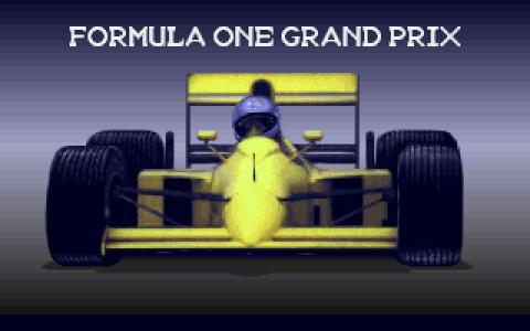 Formula 1 Grand Prix - title cover