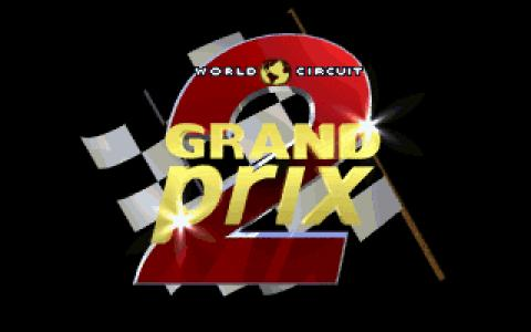 Formula 1 Grand Prix 2 - game cover
