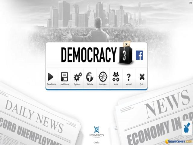 Democracy 3: Social Engineering - title cover
