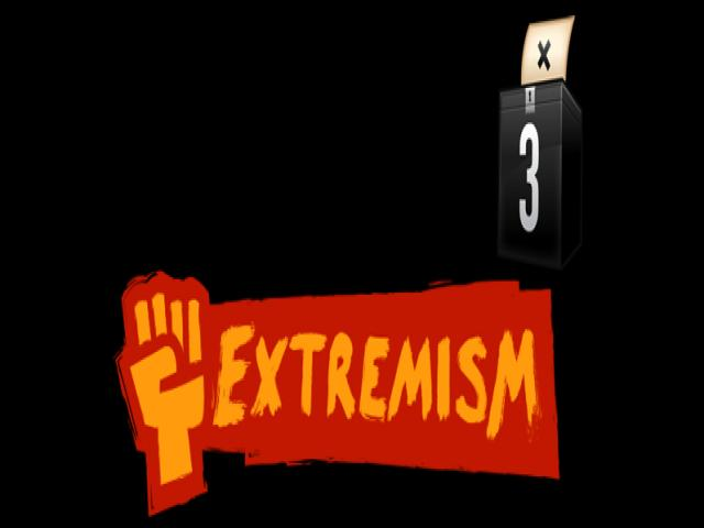 Democracy 3: Extremism - title cover