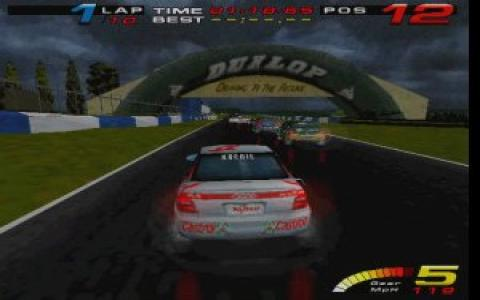 TOCA Touring Cars Racing - title cover