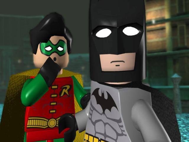 LEGO Batman: The Videogame - title cover