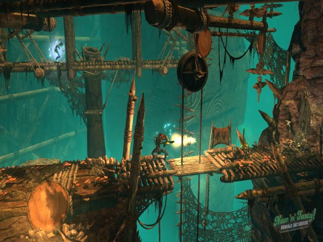 Oddworld: New 'n' Tasty - title cover