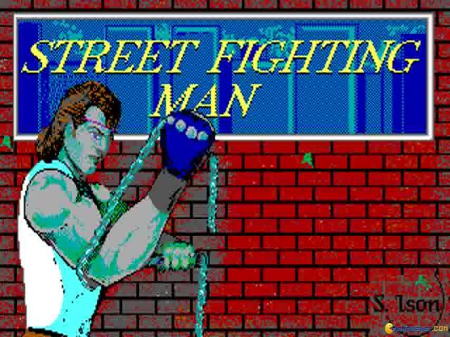Street Fighting Man - title cover