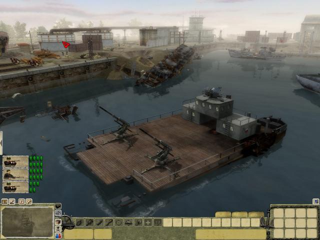 Men of War: Red Tide - game cover