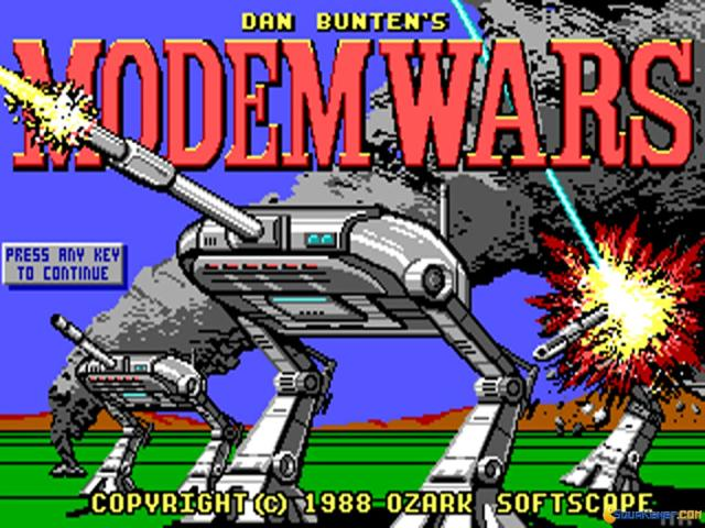 Modem Wars - game cover