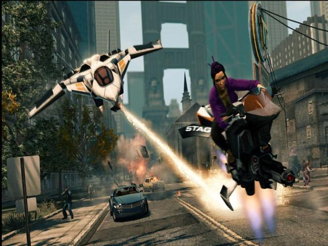 Saints Row: The Third - The Full Package edition - game cover
