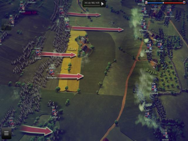 Ultimate General: Gettysburg - title cover