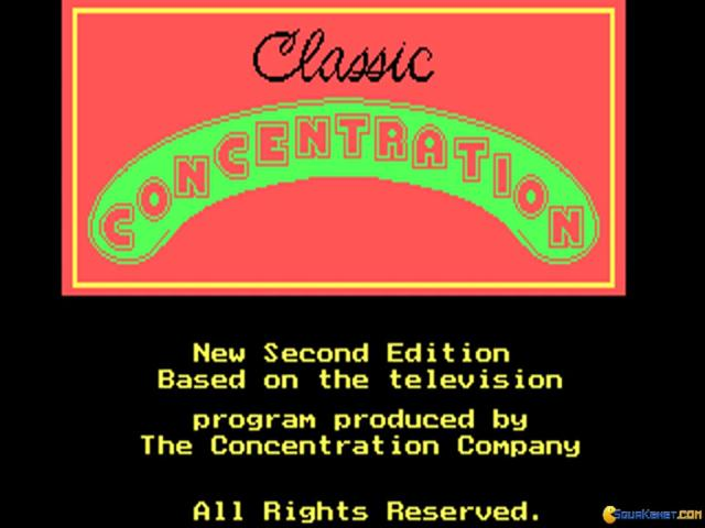 Classic Concentration 2 - game cover