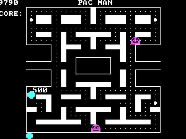 Pac Man (unofficial clone) - title cover