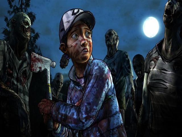 The Walking Dead: Season 2 - title cover