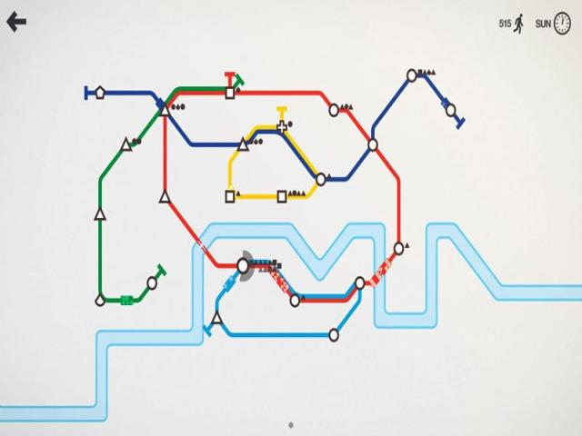 Mini Metro - title cover