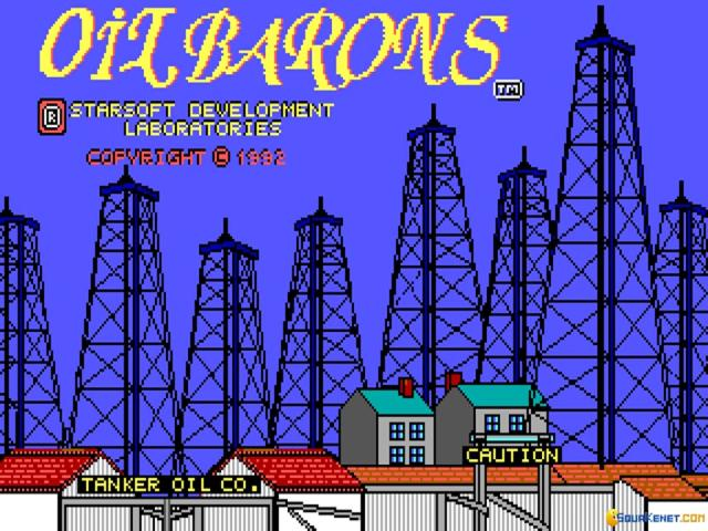 Oil Barons - title cover