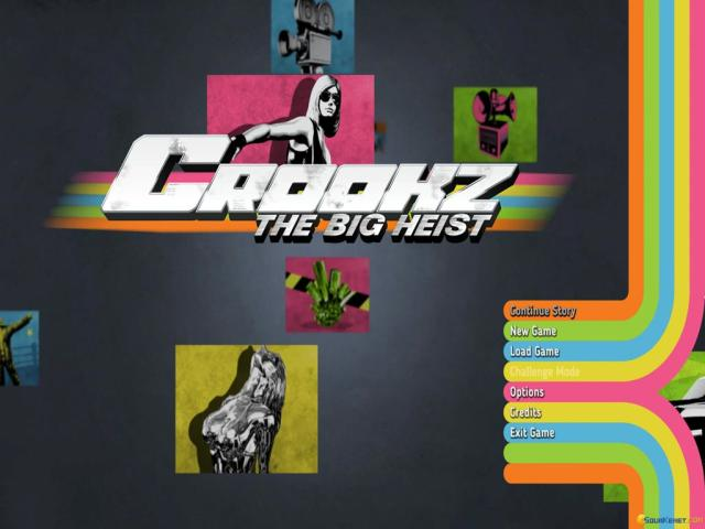 Crookz - The Big Heist - title cover