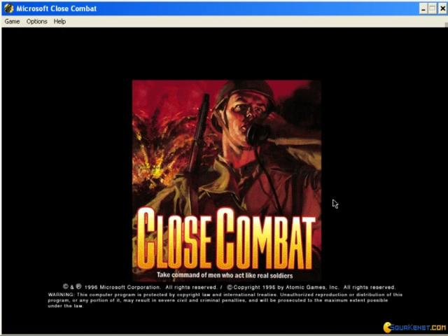 Close Combat - title cover