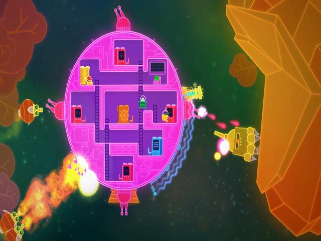 Lovers in a Dangerous Spacetime - title cover