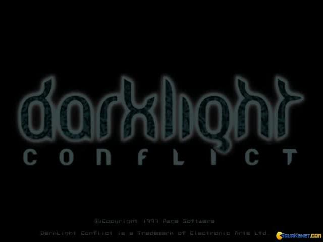 Darklight Conflict - game cover