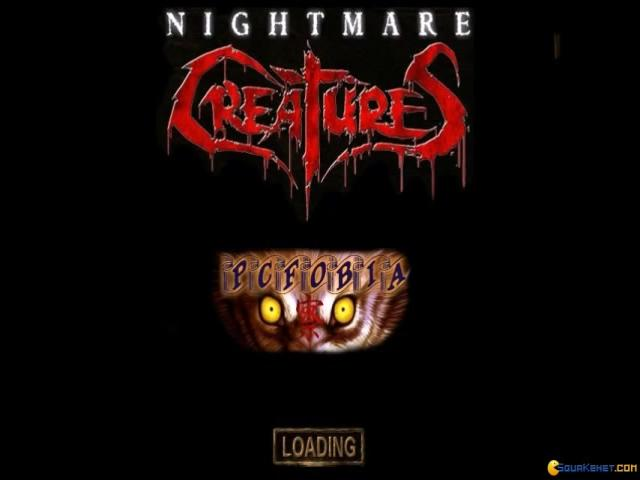 Nightmare Creatures - game cover