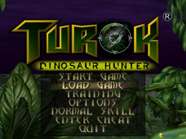 Turok: Dinosaur Hunter - title cover