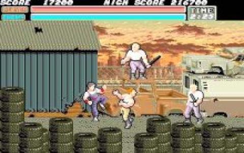 Vigilante - game cover