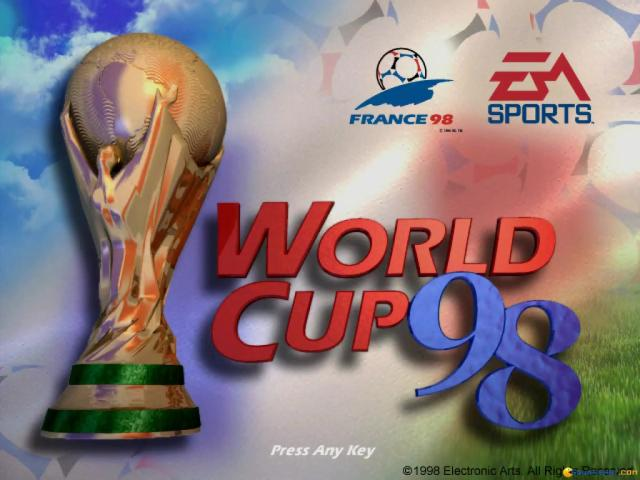 World Cup 98 - game cover