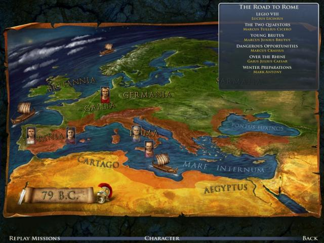 Grand Ages: Rome - title cover