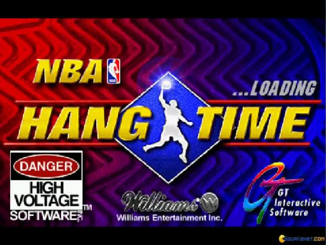 NBA Hangtime - game cover
