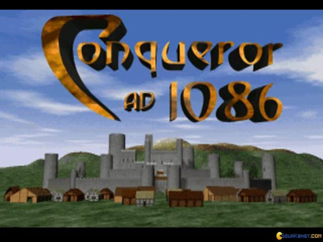 Conqueror AD 1086 - game cover