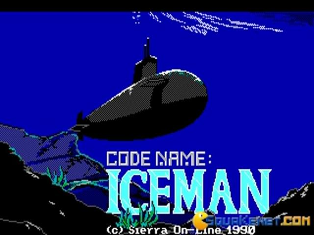 Codename - Iceman - title cover