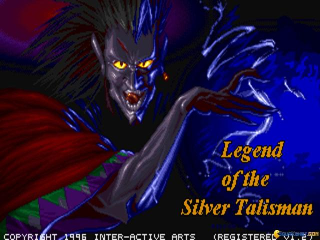 Legend of the Silver Talisman - title cover