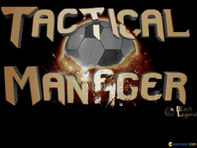 Tactical Manager - title cover