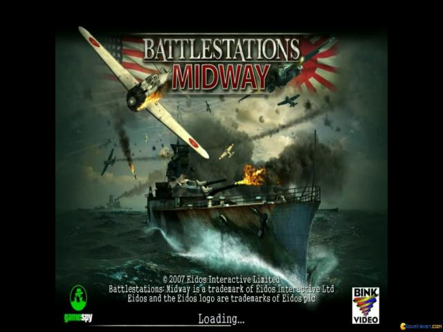 Battlestations: Midway - game cover