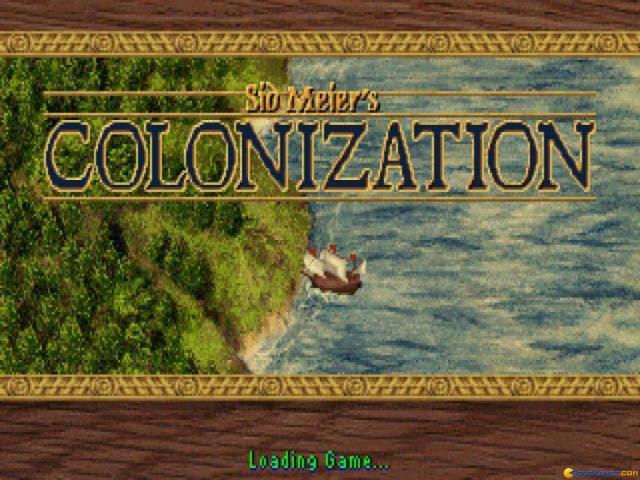 Colonization - title cover