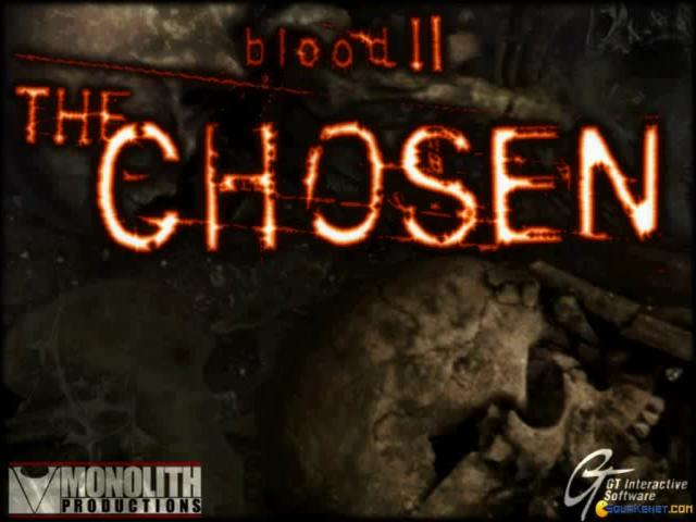 Blood 2: the Choosen - game cover