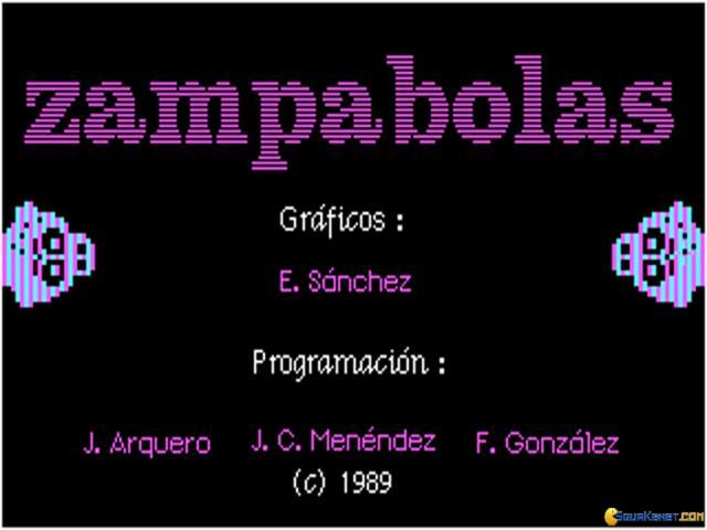 Zampabolas - title cover