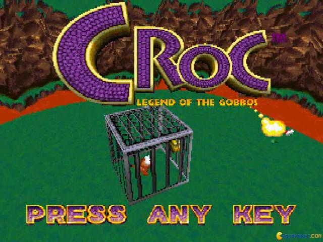Croc: Legend of the Gobbos - title cover