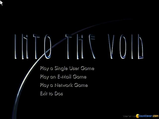 Into the Void - title cover