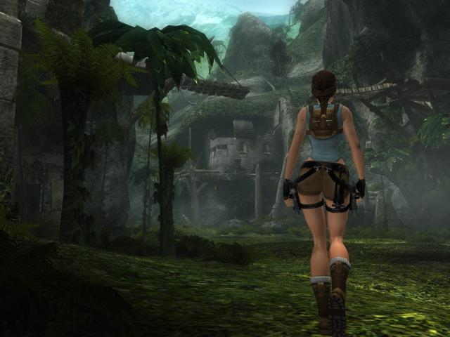 Tomb Raider: Anniversary - title cover