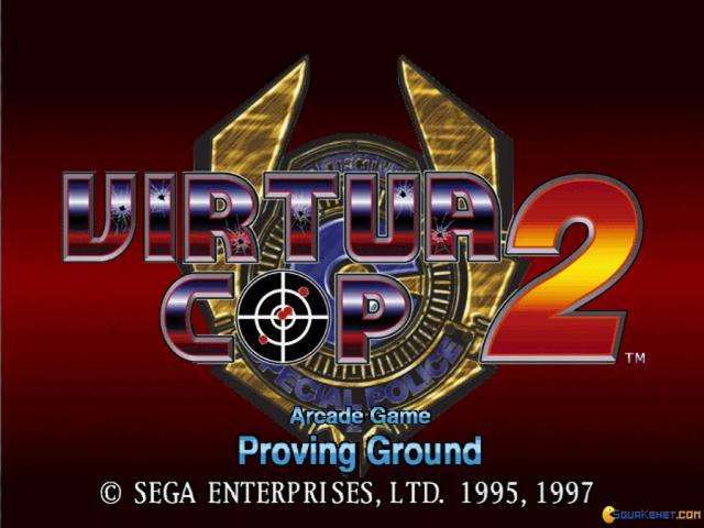 Virtua Cop 2 - title cover
