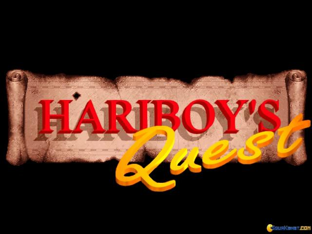 Hariboy' s Quest - title cover