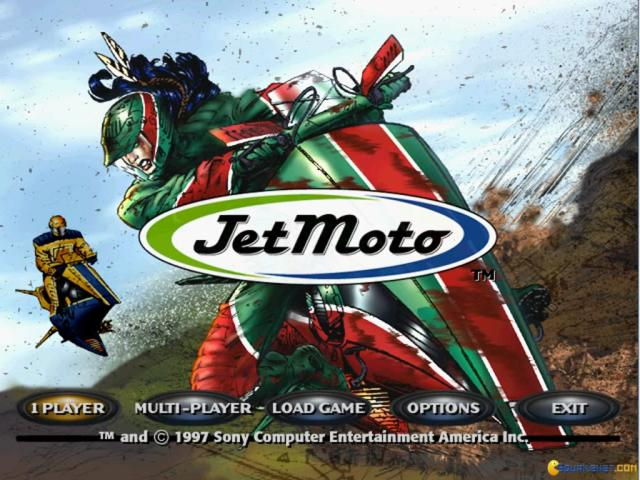 JetMoto - game cover