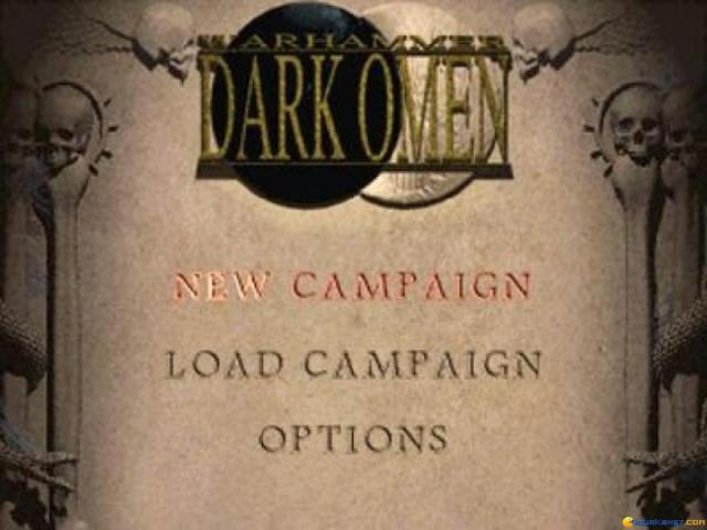 Warhammer: Dark Omen - title cover