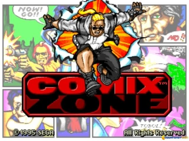 Comix Zone - game cover