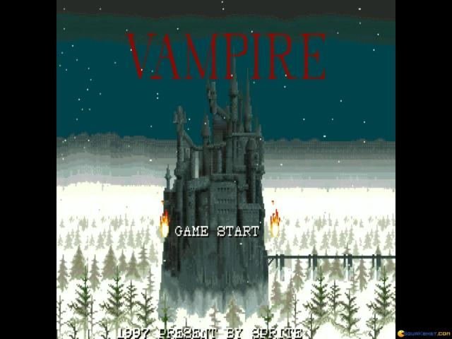 Vampire - game cover