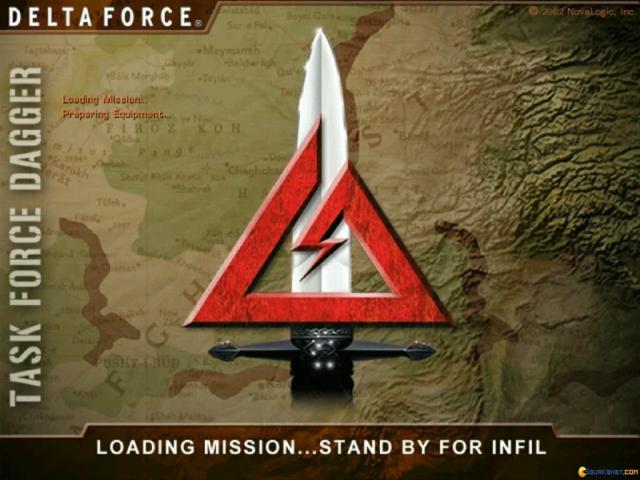Delta Force: Task Force Dagger - title cover