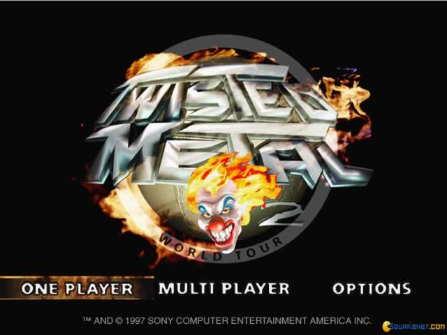 Twisted Metal 2 - title cover