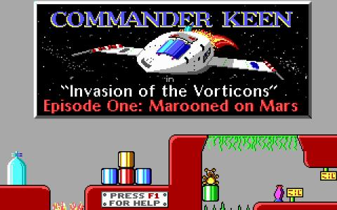 Commander Keen - title cover