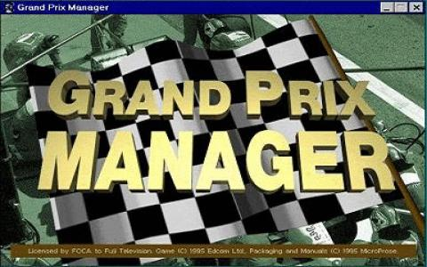 Grand Prix Manager - title cover